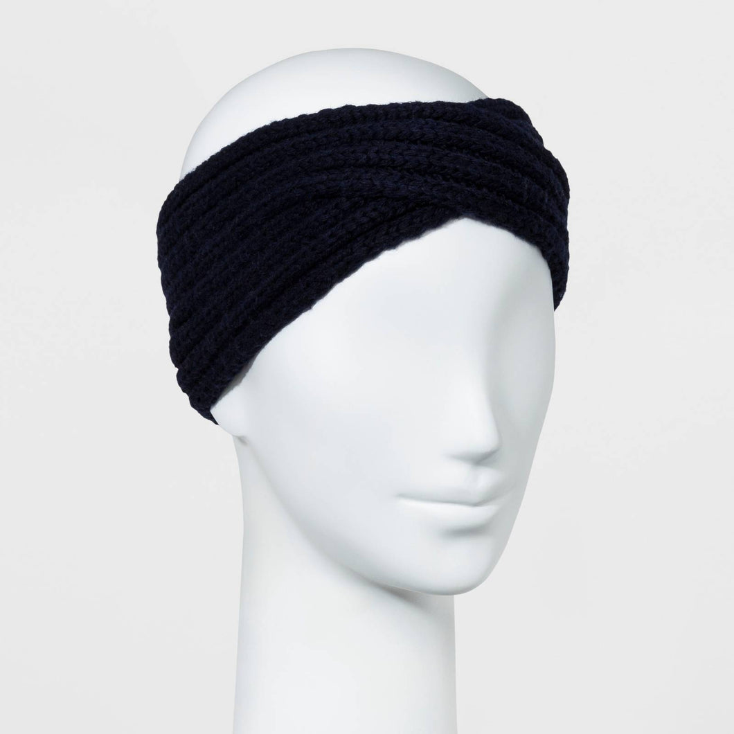 http://www.ebay.com/i/Womens-Twisted-Knit-Headband-New-Day-153-Navy-/272942125854