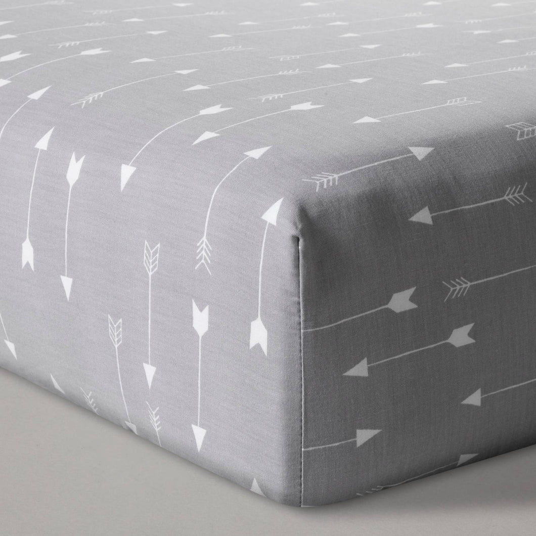 http://www.ebay.com/i/Fitted-Crib-Sheet-Arrows-Cloud-Island-153-Gray-/282648649061