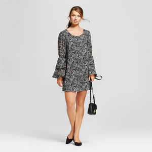 http://www.ebay.com/i/Womens-Printed-Bell-Sleeve-Dress-New-Day-153-Black-S-/272947049214