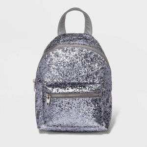 http://www.ebay.com/i/Womens-Glitter-Backpack-Handbag-Mossimo-Supply-Co-153-Pewter-/282719885206