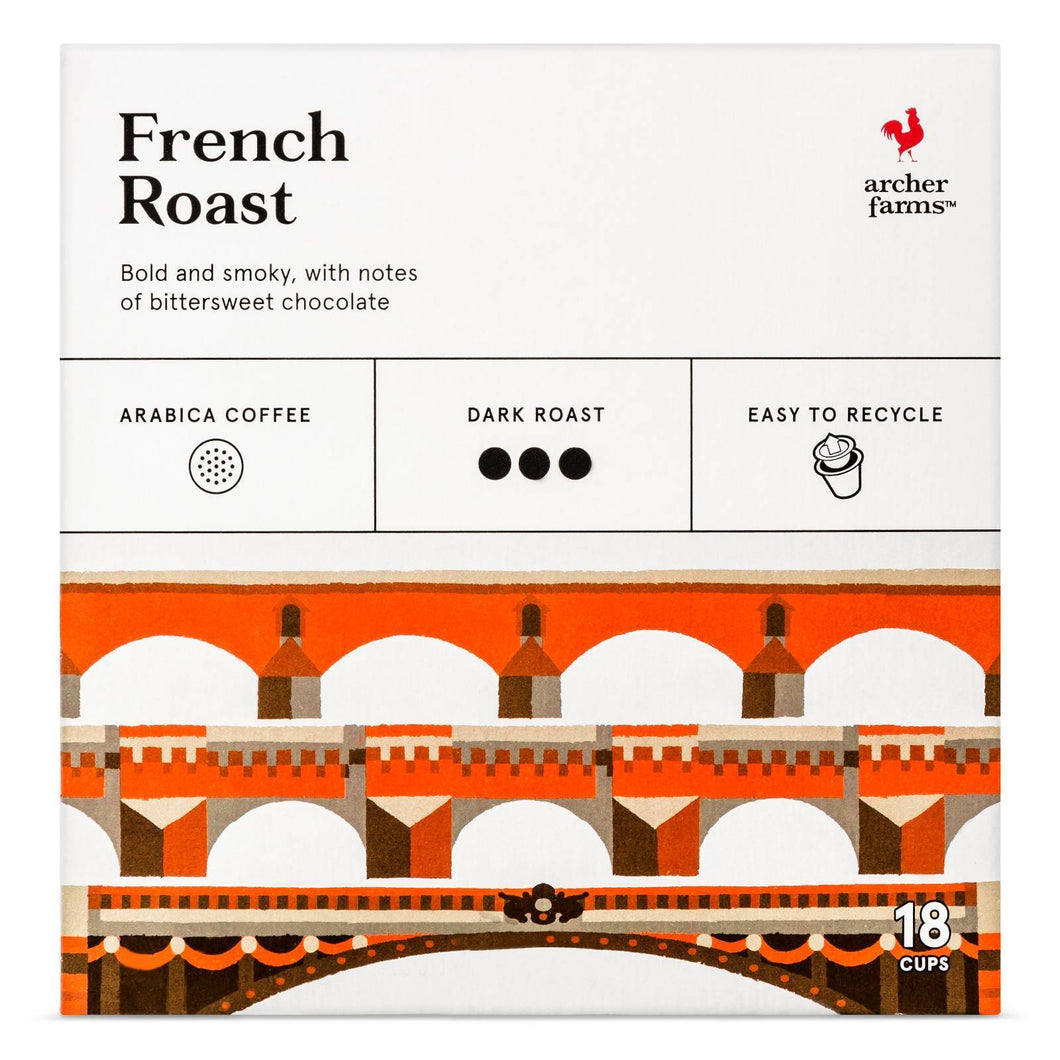 http://www.ebay.com/i/French-Roast-Dark-Roast-Coffee-Single-Serve-Pods-18ct-Archer-Farms-153-/272334444938