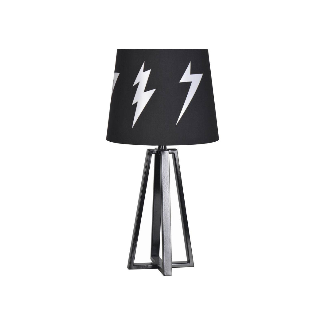 http://www.ebay.com/i/Black-Lightning-Bolt-Metal-Table-Lamp-Pillowfort-153-/302448996008