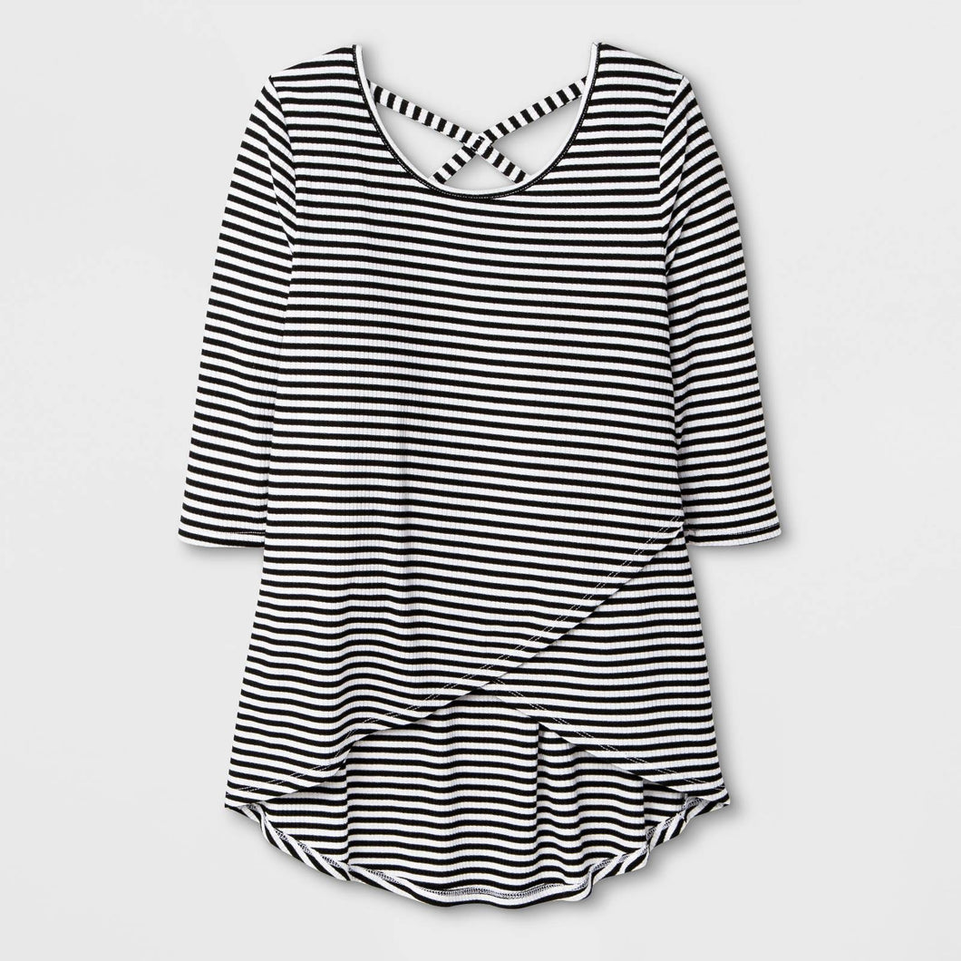 http://www.ebay.com/i/Girls-Ribbed-Strappy-Back-T-Shirt-Art-Class-153-Black-White-Stripe-S-/272948614647