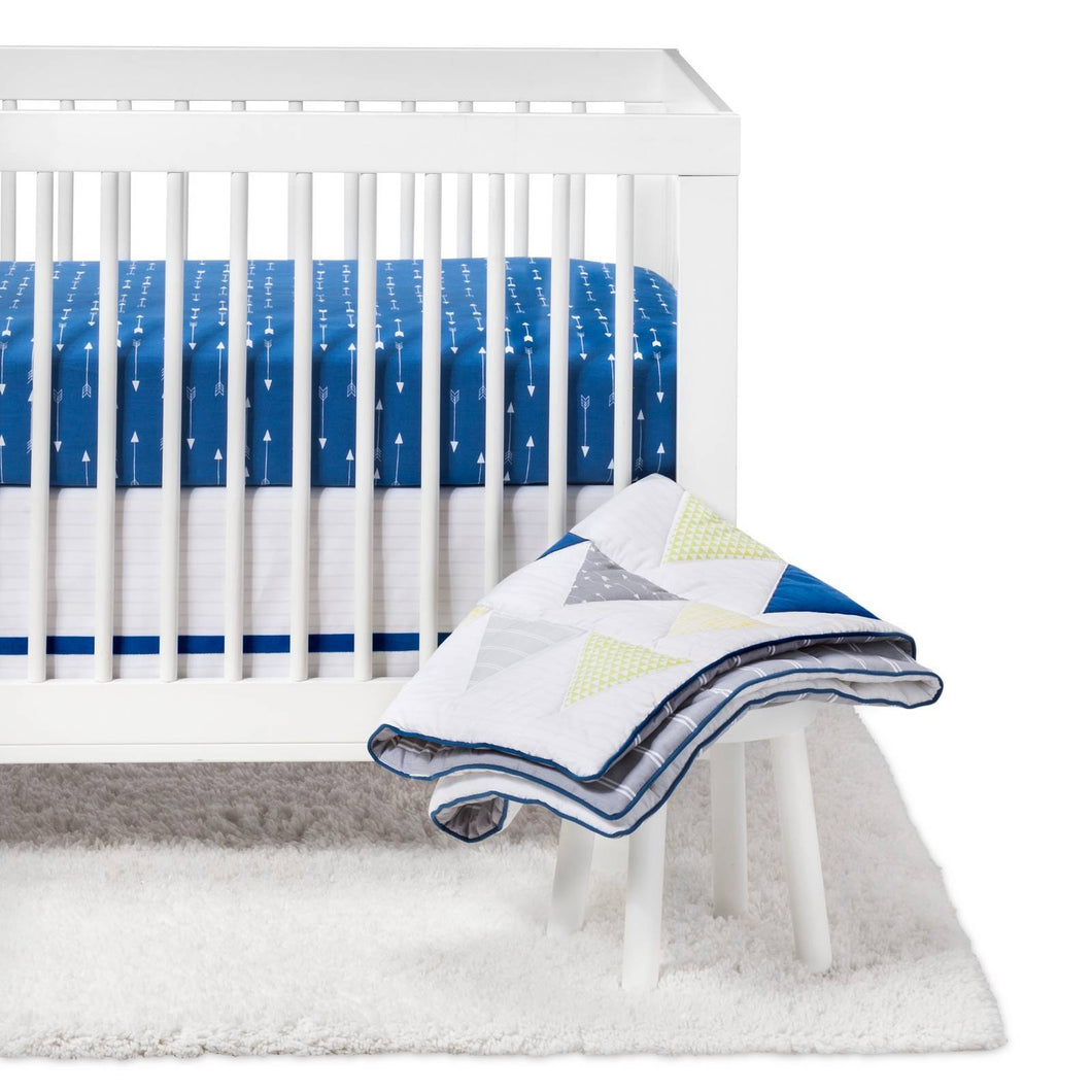 http://www.ebay.com/i/Crib-Bedding-Set-Triangles-4pc-Cloud-Island-153-Blue-/282648648440
