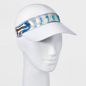 http://www.ebay.com/i/Womens-Holographic-Visor-Mossimo-Supply-Co-153-White-/302508428379