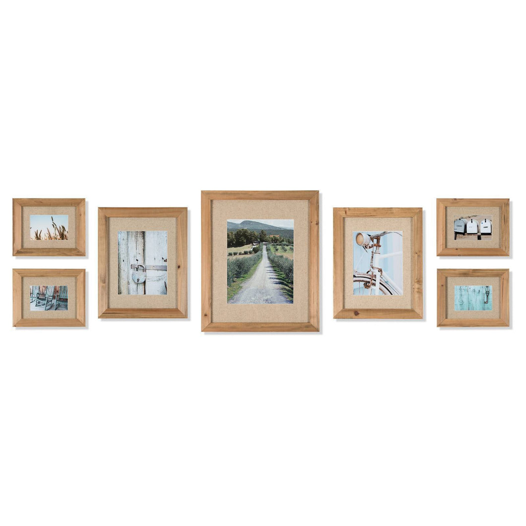 http://www.ebay.com/i/7-Piece-Rustic-Wood-Frame-Fabric-Mat-Kit-Gallery-Perfect-/302446959364