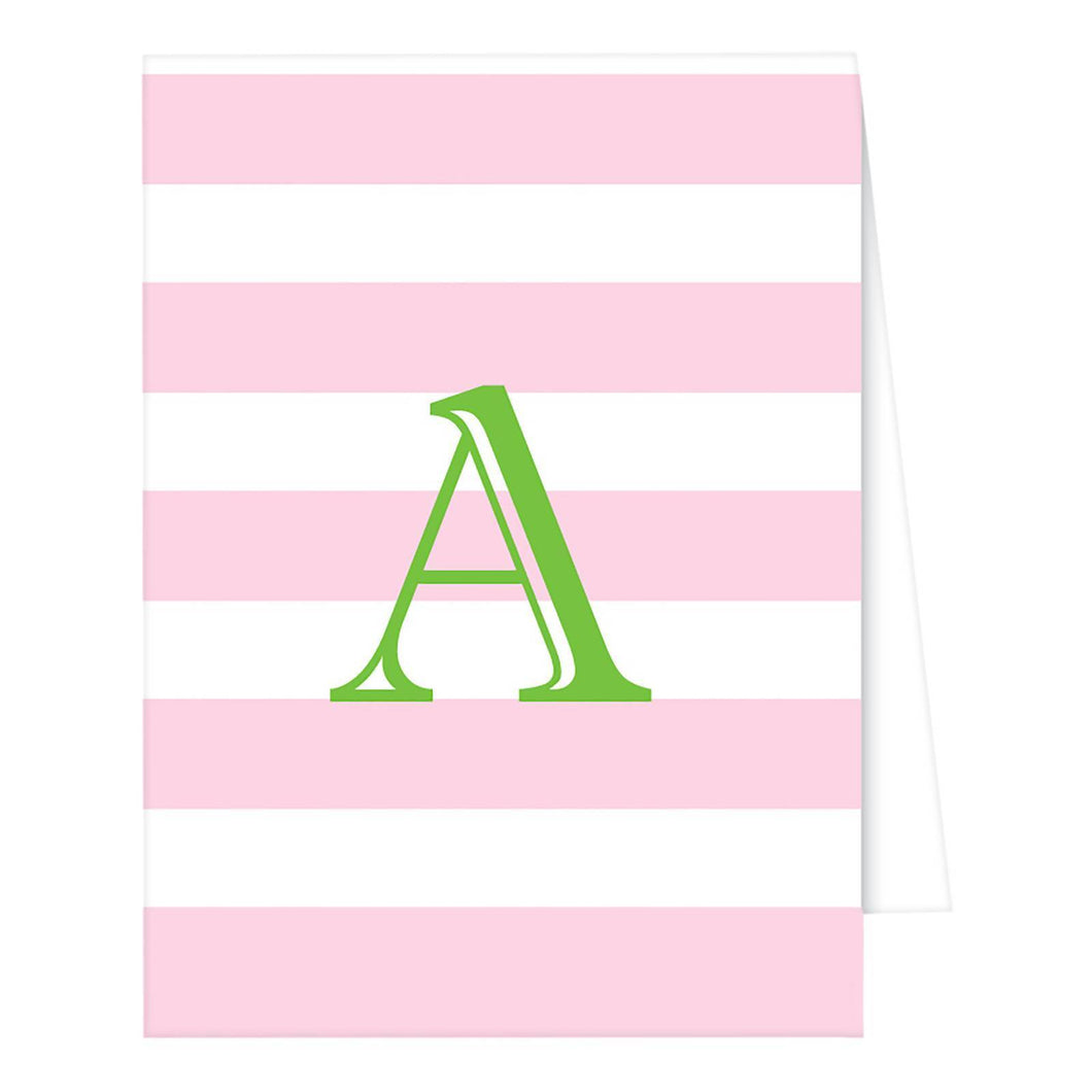 http://www.ebay.com/i/RosanneBECK-Collections-Light-Pink-Note-Cards-Cabana-Stripe-Monogram-/272947428857