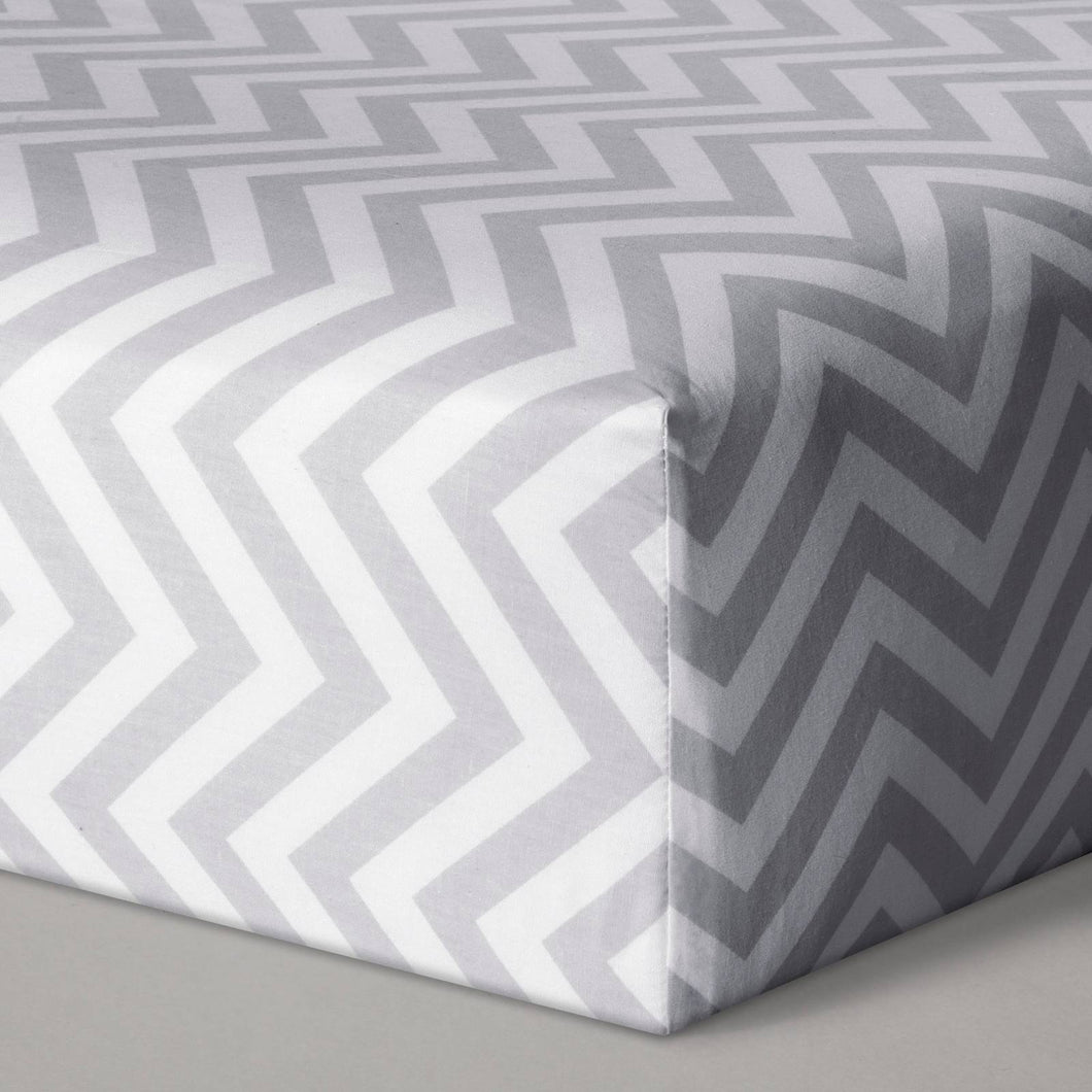 http://www.ebay.com/i/Fitted-Crib-Sheet-Chevron-Cloud-Island-153-Gray-/282648649234