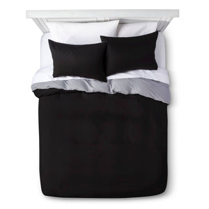 http://www.ebay.com/i/Black-Solid-Brushed-Polyester-Duvet-Set-King-Room-Essentials-153-/272947397509