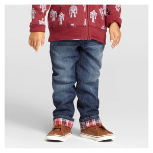 http://www.ebay.com/i/Toddler-Boys-Ribbed-Waist-Flannel-Lined-Jeans-Cat-Jack-153-Indigo-4T-/302236949028