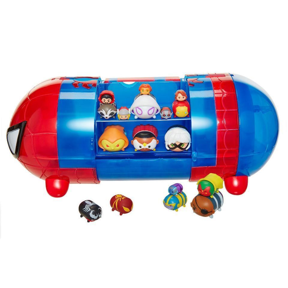 http://www.ebay.com/i/Marvel-Tsum-Tsum-Spider-Man-Stack-N-Display-Set-/362083072763