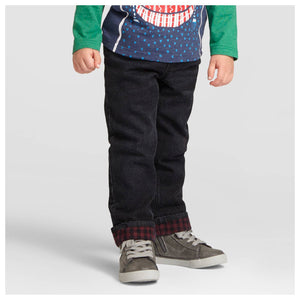 http://www.ebay.com/i/Toddler-Boys-Ribbed-Waist-Flannel-Lined-Jeans-Cat-Jack-153-Black-4T-/302236949018