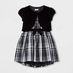 http://www.ebay.com/i/Girls-Classic-Collection-Line-Dress-Cat-Jack-153-White-Black-Plaid-L-/272942180818