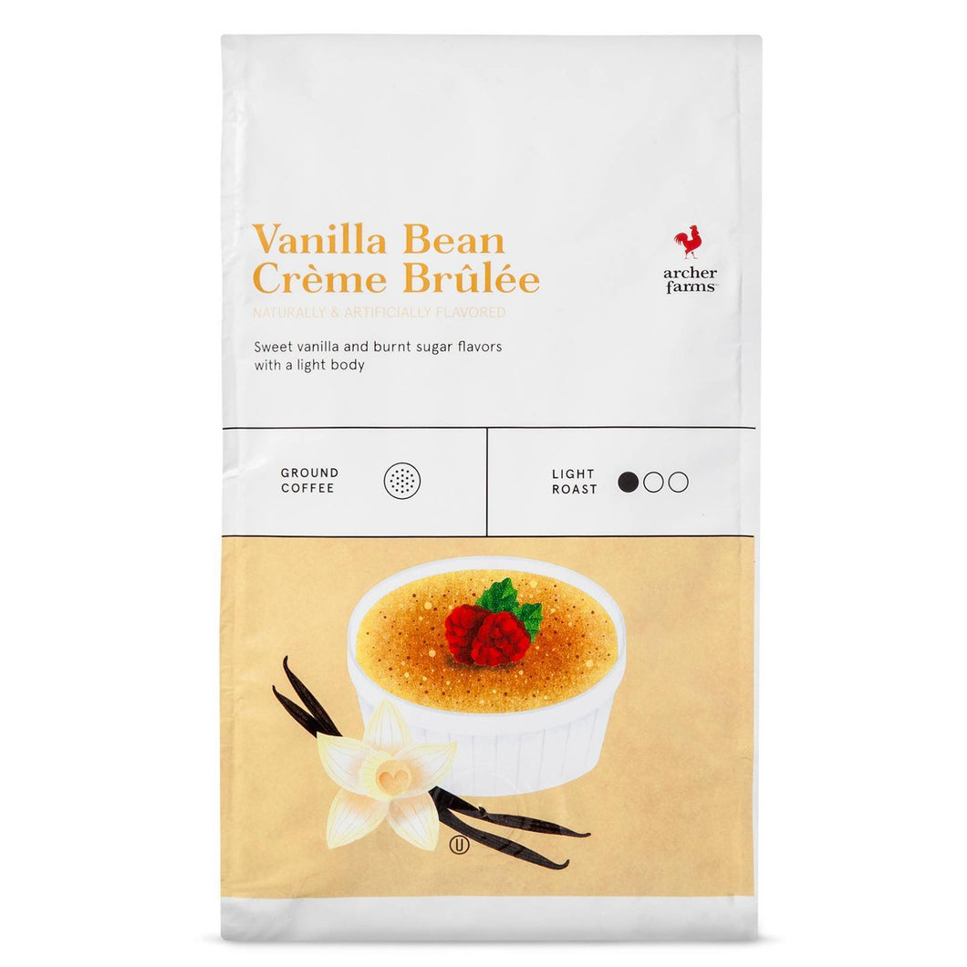 http://www.ebay.com/i/Vanilla-Bean-Creme-Brulee-Ground-Coffee-20oz-Archer-Farms-153-/272660268088