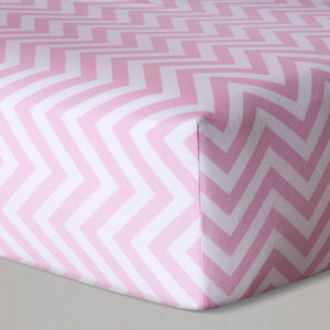 http://www.ebay.com/i/Fitted-Crib-Sheet-Chevron-Cloud-Island-153-Pink-/302449033248