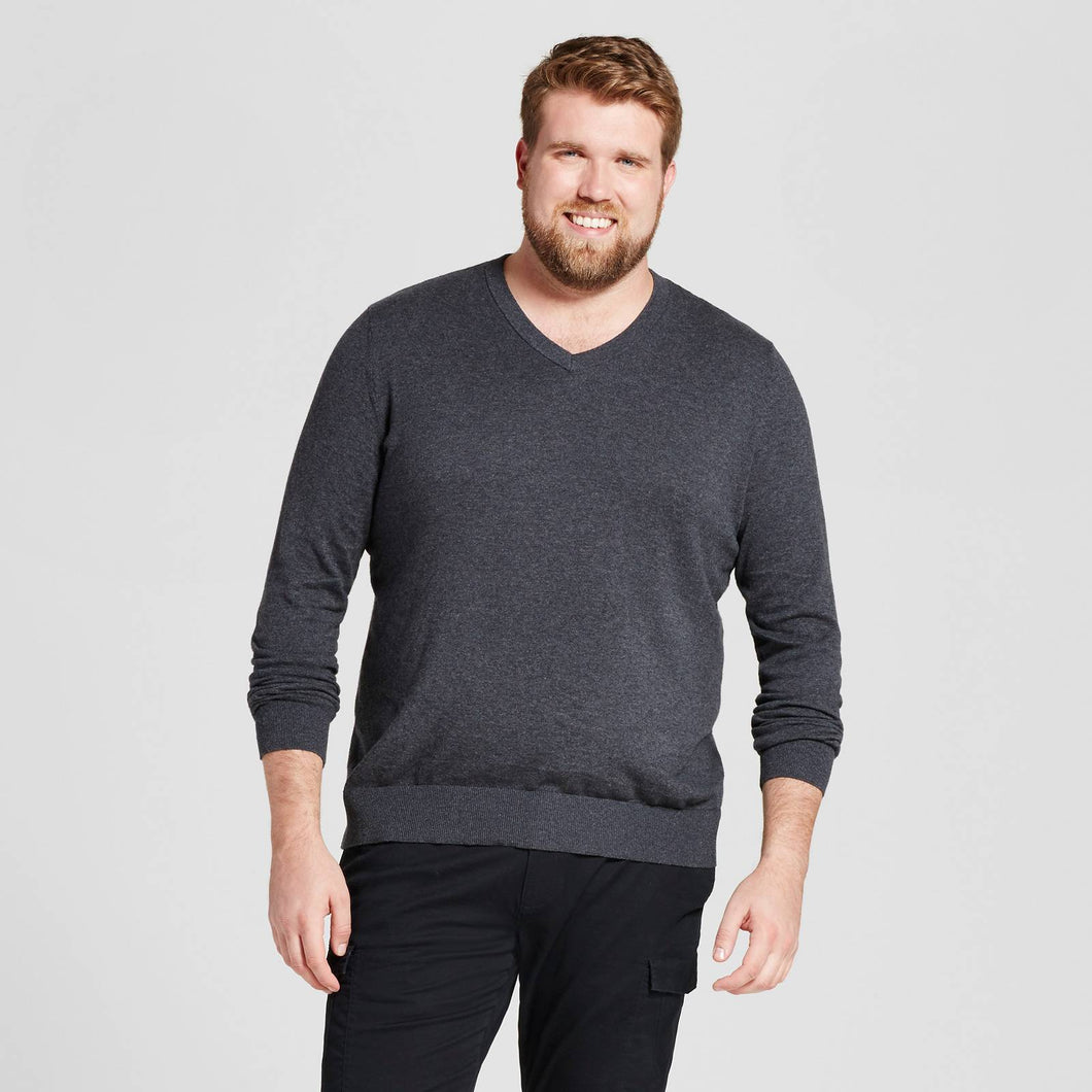 http://www.ebay.com/i/Mens-Big-Tall-V-Neck-Sweater-Goodfellow-Co-153-Heather-Black-LT-/302537633429