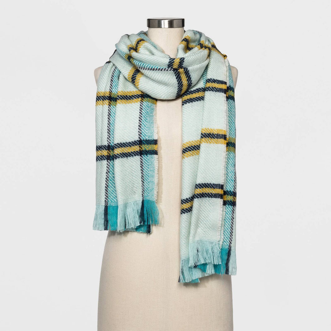 http://www.ebay.com/i/Womens-Plaid-Scarf-New-Day-153-Mint-/272843404121