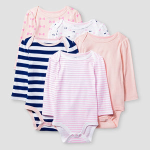 http://www.ebay.com/i/Baby-Girls-Long-Sleeve-5-Pack-Bodysuit-Baby-Cat-Jack-153-Pink-Navy-0-3M-/282376979656