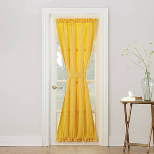 http://www.ebay.com/i/Montego-Casual-Textured-Door-Curtain-Panel-Yellow-48-x72-No-918-/302529666567