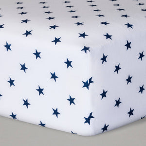 http://www.ebay.com/i/Fitted-Crib-Sheet-Stars-Cloud-Island-153-Navy-/302449033222