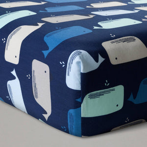 http://www.ebay.com/i/Fitted-Crib-Sheet-Whales-Navy-Cloud-Island-153-/282648649130