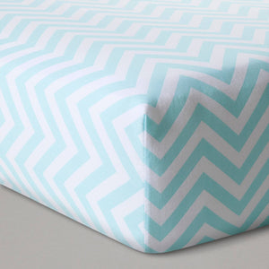 http://www.ebay.com/i/Fitted-Crib-Sheet-Chevron-Cloud-Island-153-Blue-White-/302449033054