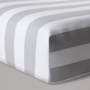http://www.ebay.com/i/Fitted-Crib-Sheet-Rugby-Stripes-Cloud-Island-153-Gray-/302449033133