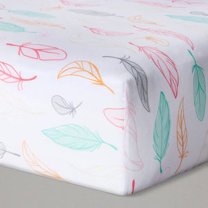 http://www.ebay.com/i/Fitted-Crib-Sheet-Feathers-Cloud-Island-153-Pink-/282648648600