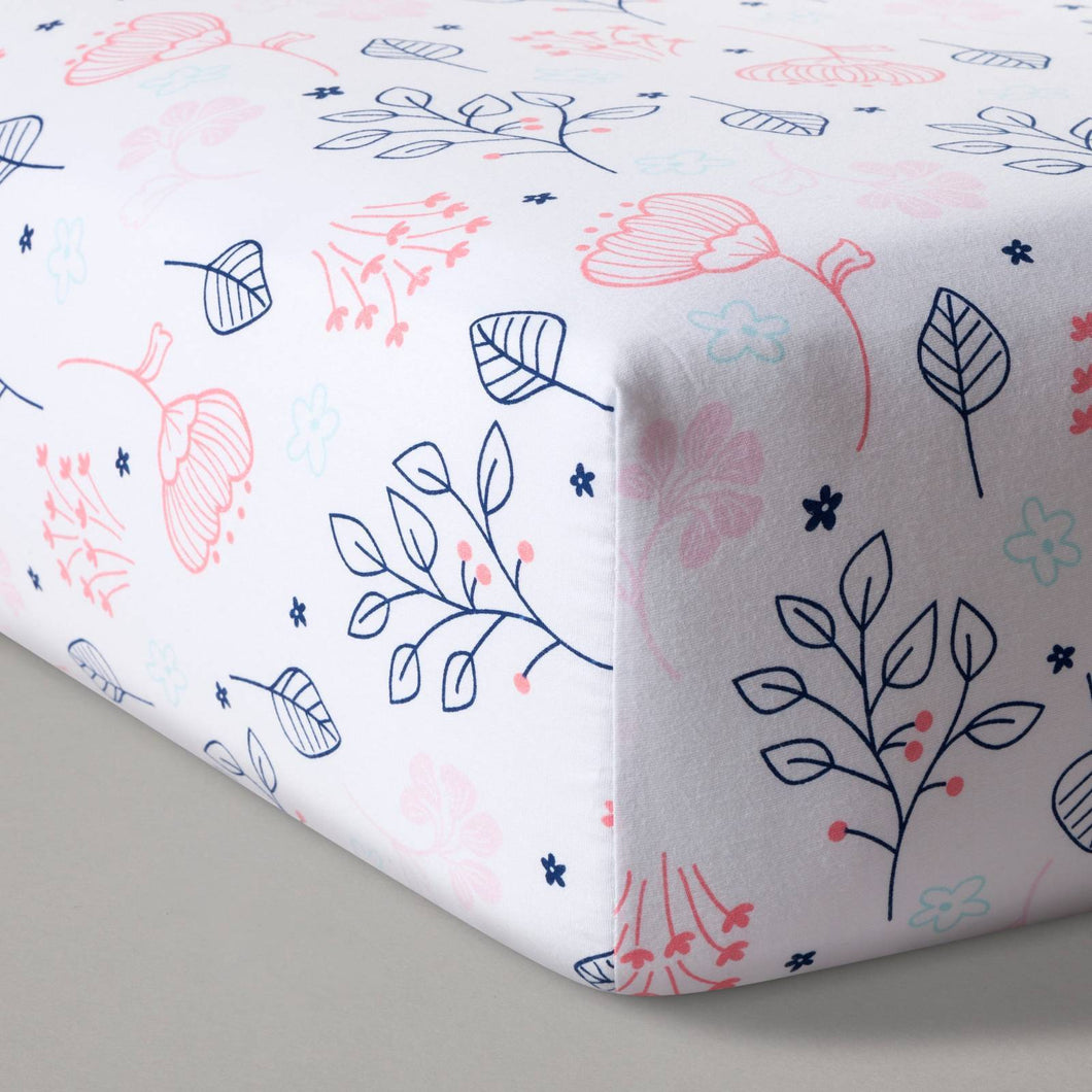 http://www.ebay.com/i/Fitted-Crib-Sheet-Navy-Pink-Cloud-Island-153-Navy-Pink-/302449033577