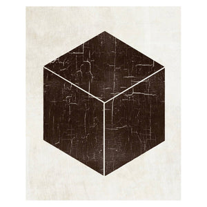 http://www.ebay.com/i/Bold-Shapes-Cube-Unframed-Wall-Canvas-Art-20X24-/272837970452
