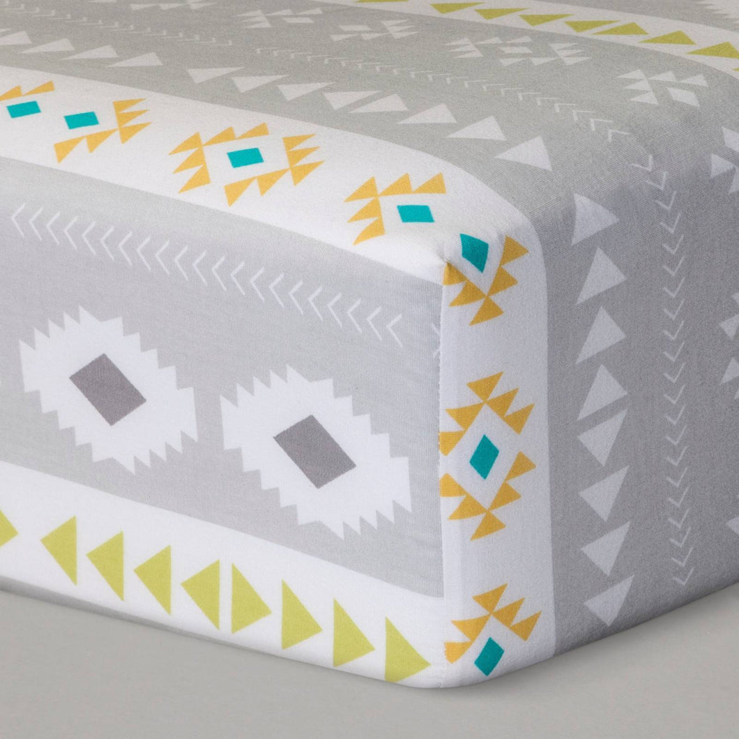 http://www.ebay.com/i/Fitted-Crib-Sheet-Desert-Dreams-Cloud-Island-153-Yellow-Gray-/282648648980