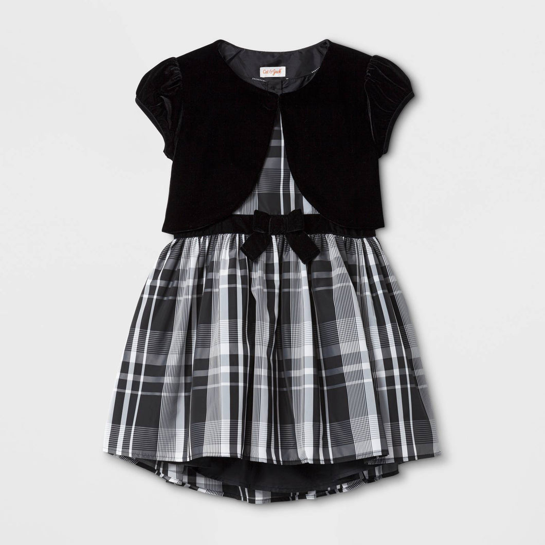 http://www.ebay.com/i/Girls-Classic-Collection-Line-Dress-Cat-Jack-153-White-Black-Plaid-XS-/272942181544