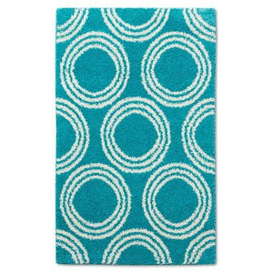 http://www.ebay.com/i/Basic-Shag-Area-Rug-Turquoise-Circles-5-x-7-Room-Essentials-/282036646447