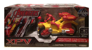 http://www.ebay.com/i/Marvel-Avengers-1-24-Scale-27-MHz-Iron-Man-Arc-Cycle-/362157292673