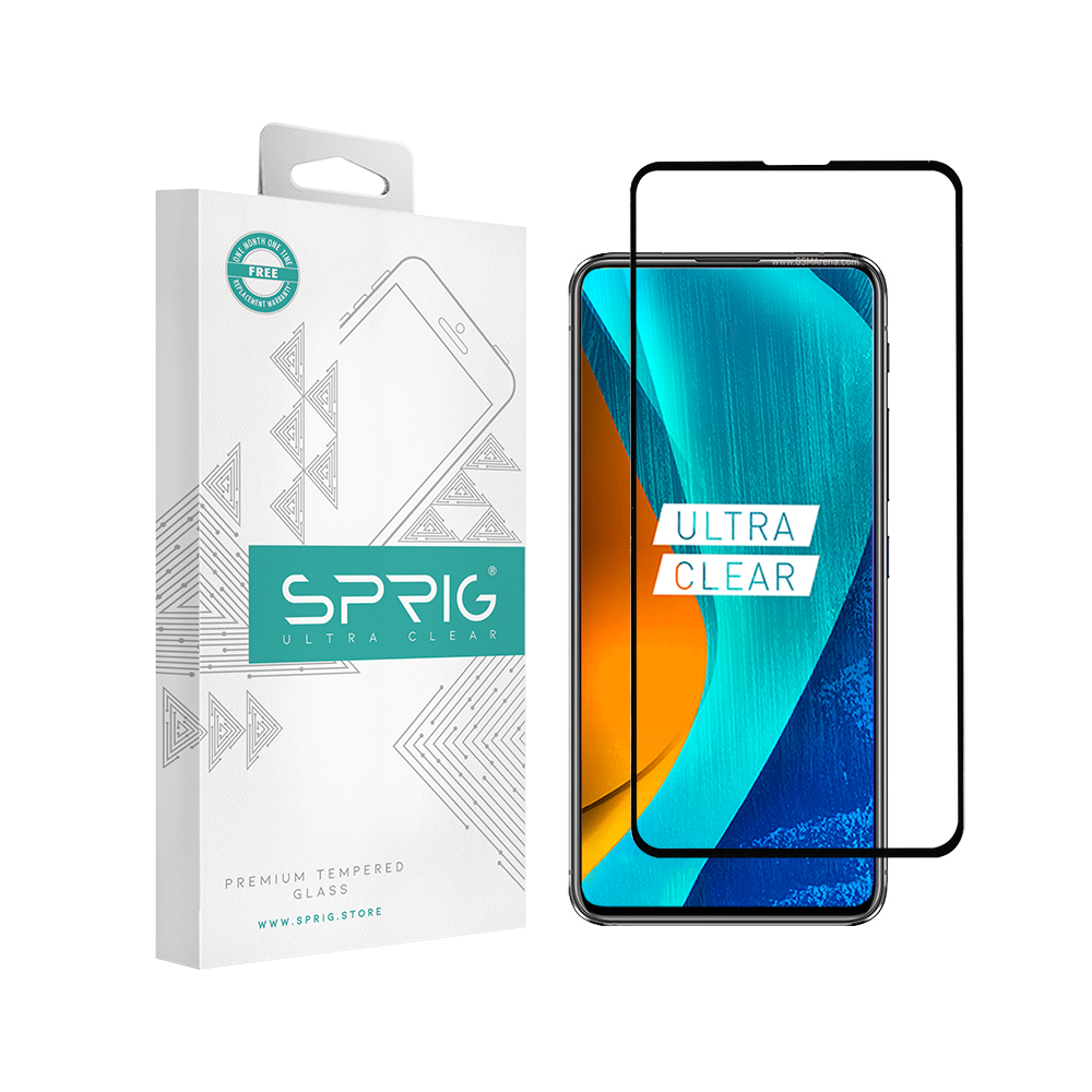 SPRIG Full Cover Tempered Glass Screen Protector for Asus Zenfone 6Z - Sprig