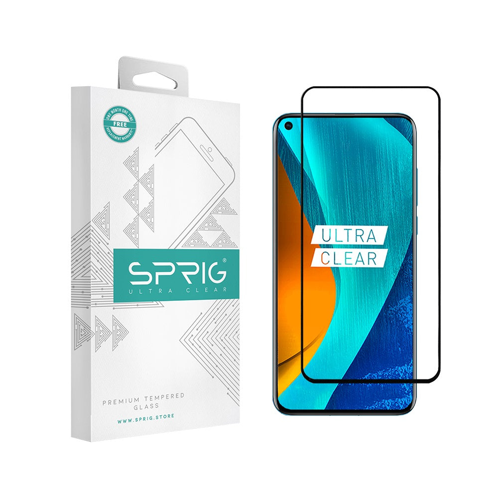 Sprig Full Screen Tempered Glass/Screen Protector for Huawei Nova 4 - Sprig