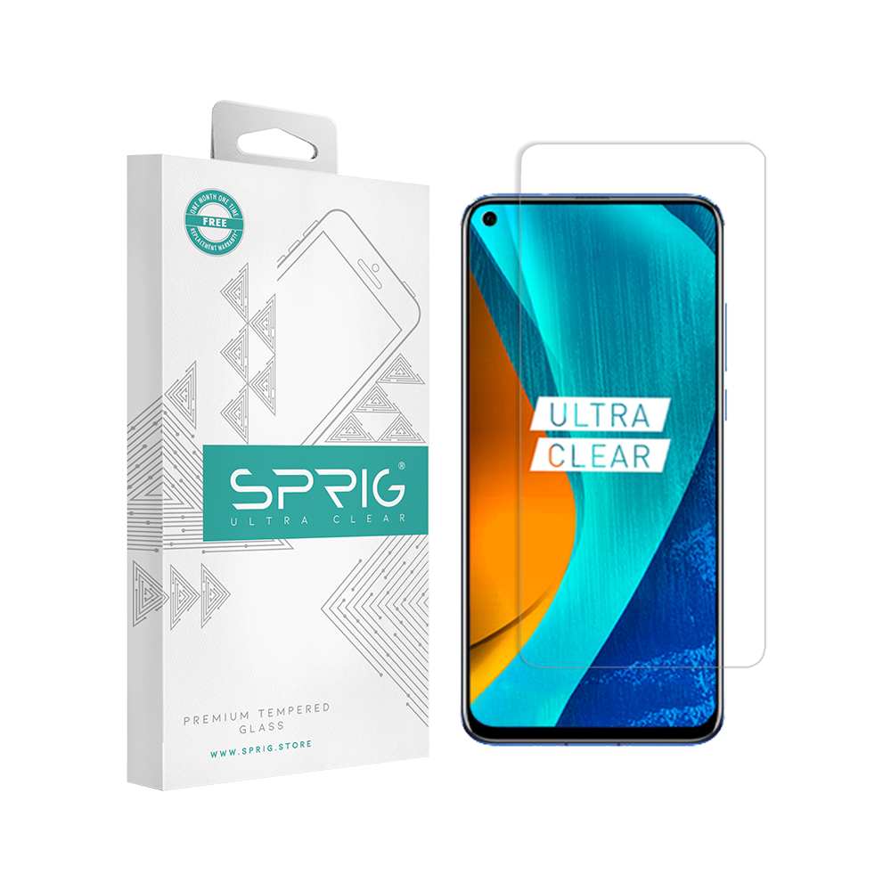 SPRIG Transprent Tempered Glass Screen Protector for Oppo Reno 2F - Sprig