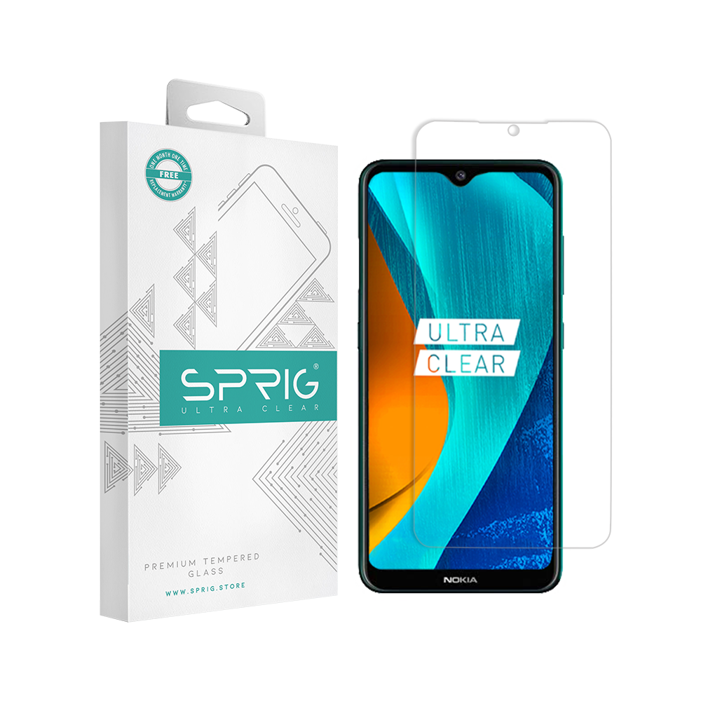 Buy Nokia 7.2 Tempered Glass Transparent at Sprig.Store - Sprig