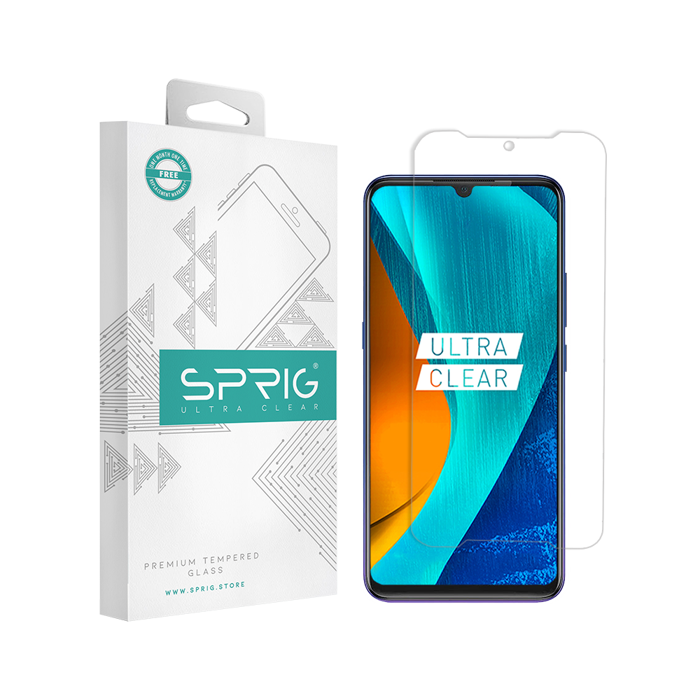 Sprig's Vivo Z1X Transparent Tempered Glass - Sprig