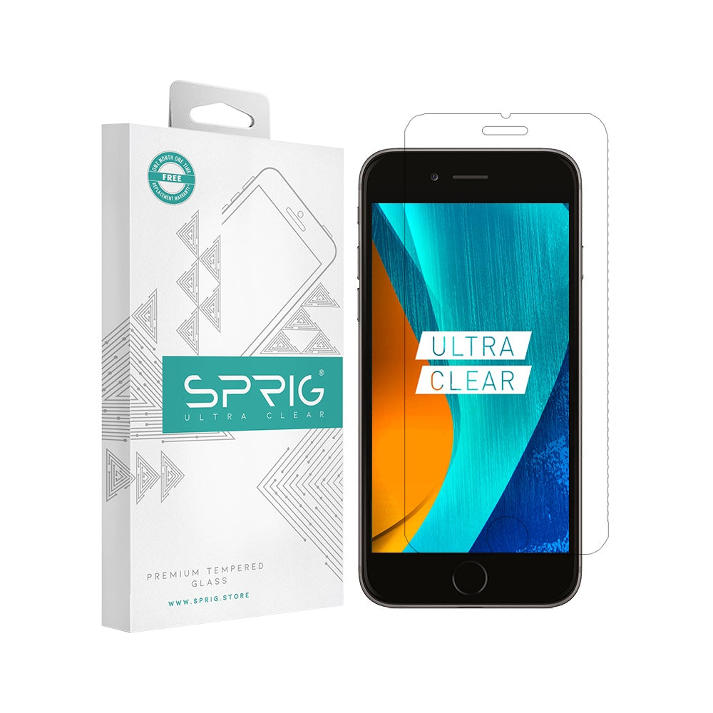 Sprig Transparent Tempered Glass/Screen Protector for IPhone 6 - Sprig
