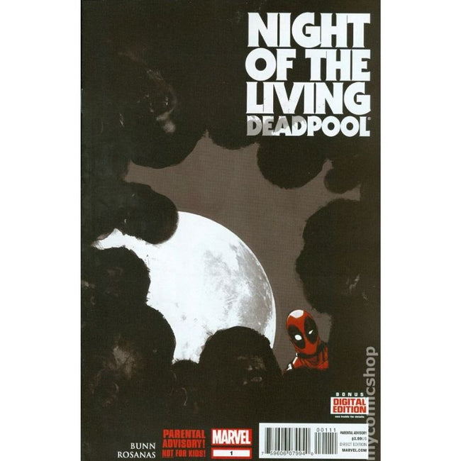 NIGHT OF THE LIVING DEADPOOL SET (2014) #1-4
