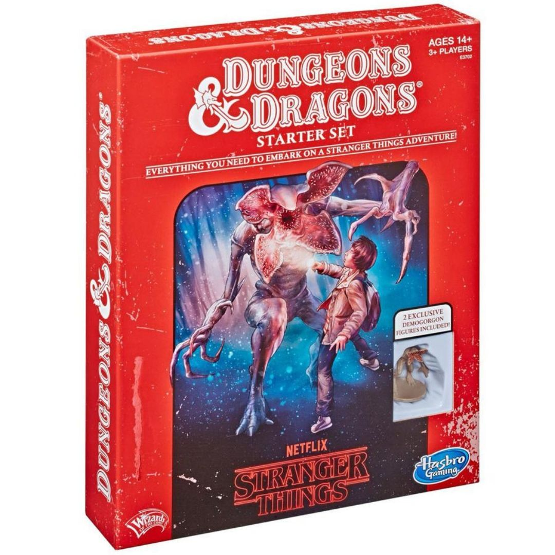 DUNGEONS AND DRAGONS STRANGER THINGS - STARTER SET