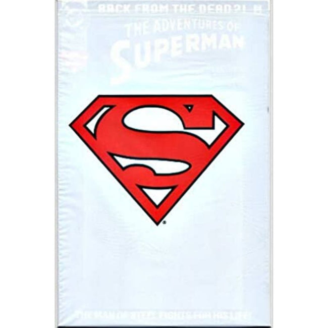 ADVENTURES OF SUPERMAN #500 WHITE BAG UNSEALED COLLECTORS SET
