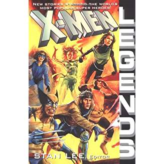 X-MEN LEGENDS NOVEL