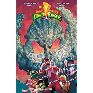 MIGHTY MORPHIN POWER RANGERS TP VOL 06