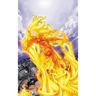 HUMAN TORCH BY KESEL AND YOUNG COMP COLL TP
