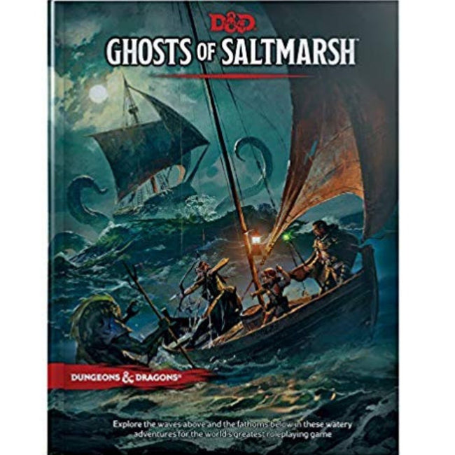 D & D GHOSTS OF SALTMARSH