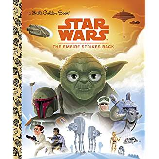 LITTLE GOLDEN BOOK STAR WARS: EMPIRE STIKES BACK