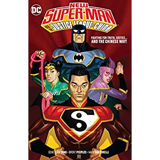 NEW SUPER MAN & THE JUSTICE LEAGUE OF CHINA TP