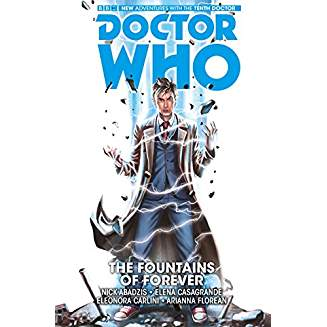 DOCTOR WHO TENTH DOCTOR  VOL 3 THE FOUNTAINS OF FEAR